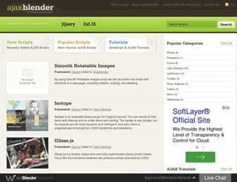 Thumbshot of Ajaxblender.com