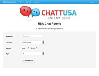 chattusa.com screenshot