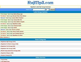 rajmp3.com screenshot