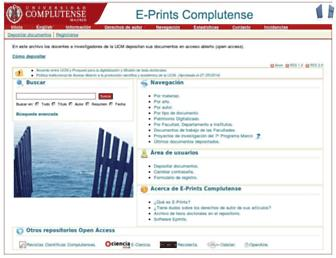 eprints.ucm.es screenshot