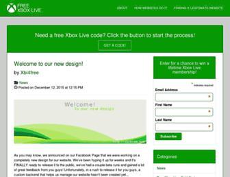 xbl4free.net screenshot