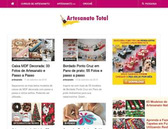 artesanatototal.com screenshot