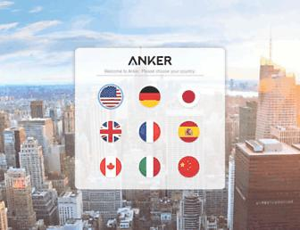 anker.com screenshot