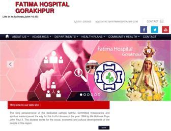 fatimahospitalgkp.com screenshot