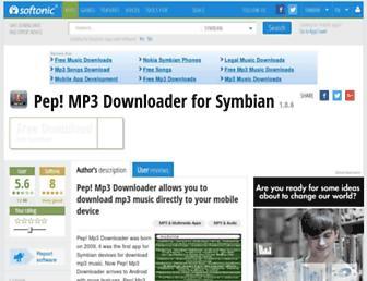 pep-mp3-downloader.en.softonic.com screenshot