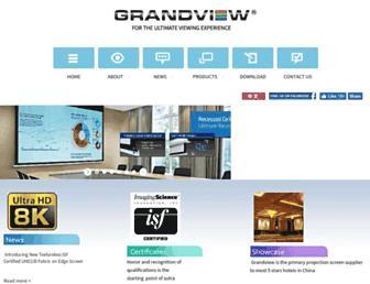 grandviewscreen.com screenshot