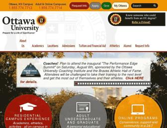 ottawa.edu screenshot