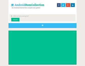 androidromcollection.blogspot.com screenshot