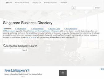 sgpbusiness.com screenshot