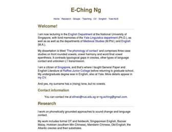 eching.org screenshot