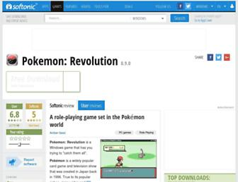 pokemon-revolution.en.softonic.com screenshot