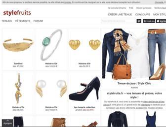 stylefruits.fr screenshot