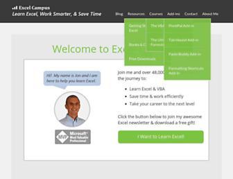 excelcampus.com screenshot