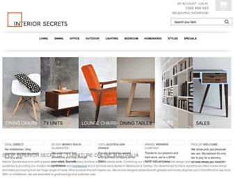 interiorsecrets.com.au screenshot