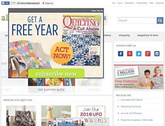 Thumbshot of Allpeoplequilt.com