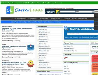 career-leaps.com screenshot