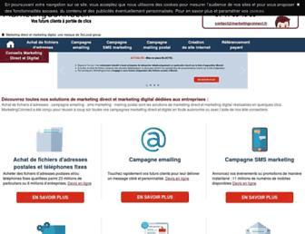 marketingconnect.fr screenshot