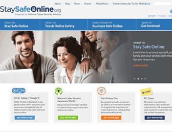 Thumbshot of Staysafeonline.org