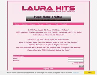 Thumbshot of Laurahits.com