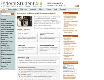 ifap.ed.gov screenshot