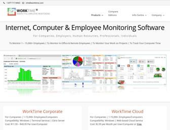 worktime.com screenshot