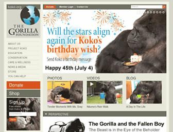 Thumbshot of Koko.org