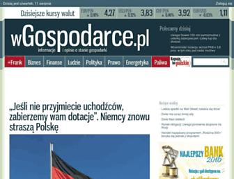 Thumbshot of Wgospodarce.pl