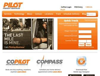 pilotdelivers.com screenshot