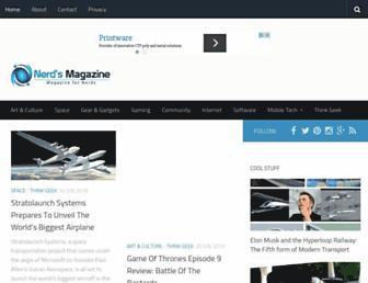 Thumbshot of Nerdsmagazine.com