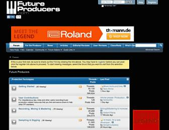 futureproducers.com screenshot