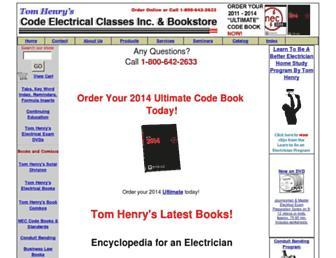 code-electrical.com screenshot