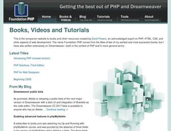 Thumbshot of Foundationphp.com