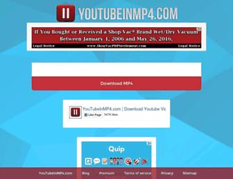 Thumbshot of Youtubeinmp4.com