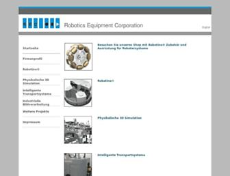 servicerobotics.eu screenshot