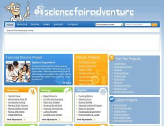 sciencefairadventure.com screenshot