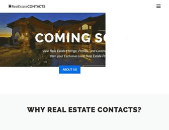 Thumbshot of Realestatecontacts.com