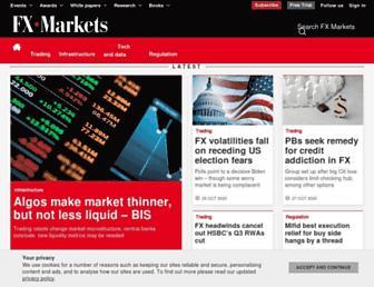 fx-markets.com screenshot
