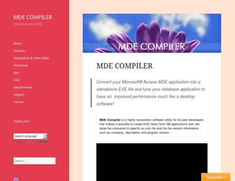 mdecompiler.com screenshot