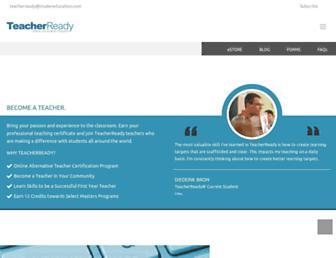 teacherready.org screenshot