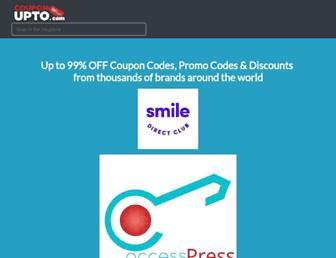 couponupto.com screenshot