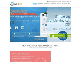 syncios.com screenshot