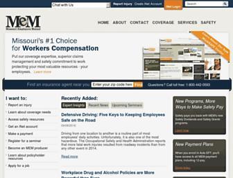 mem-ins.com screenshot