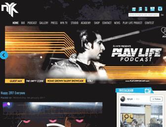 djnyk.com screenshot