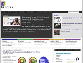 bi-notes.com screenshot