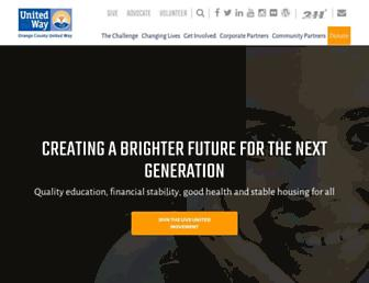 unitedwayoc.org screenshot