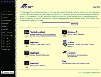 Fullscreen thumbnail of schoolnet.co.uk