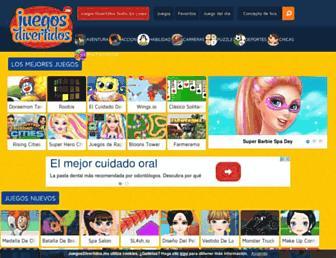 juegosdivertidos.mx screenshot
