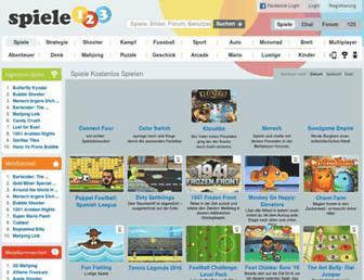 Thumbshot of Spiele123.com