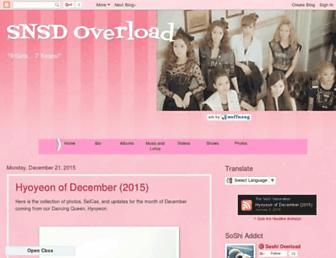 snsdoverload.blogspot.com screenshot