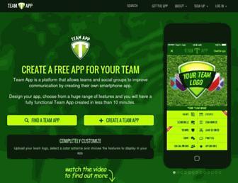 Thumbshot of Teamapp.com